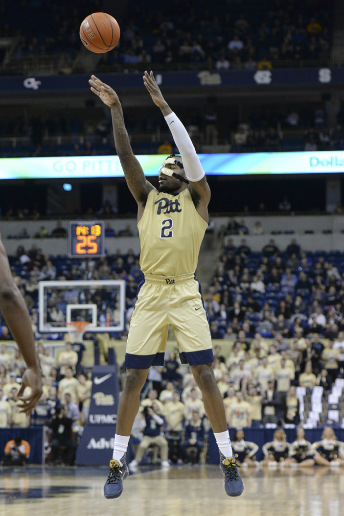 Pitt senior forward Michael Young scored a game-high 25 points in the Panthers' 79-74 loss at NC State Tuesday. Jeff Ahearn | Senior Staff Photographer