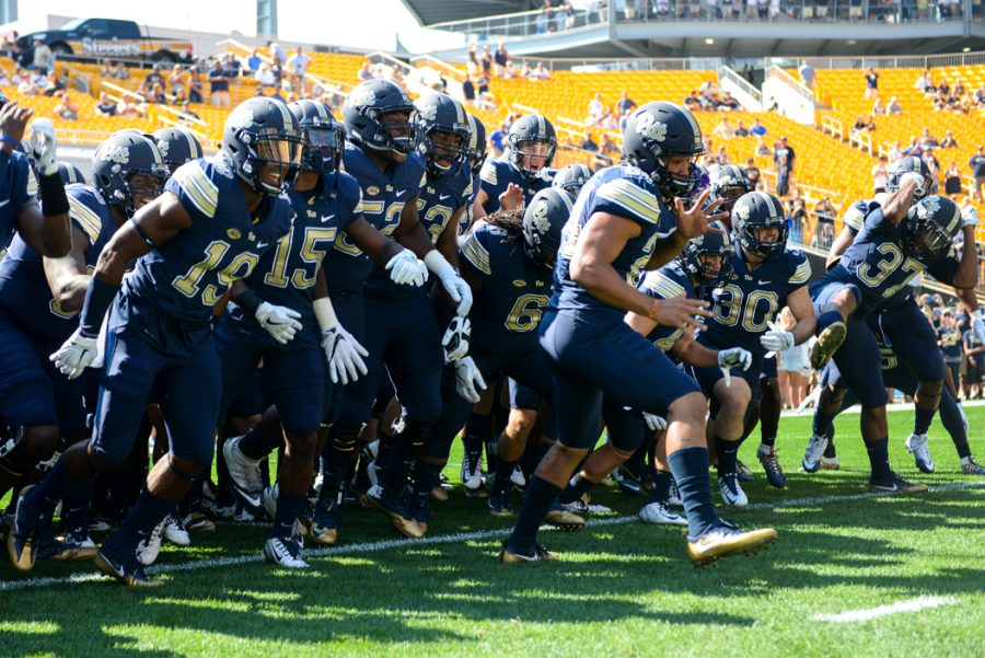 For the Pitt Panthers to join the ranks of college football's best, the team must recruit more effectively in Western Pennsylvania. Jeff Ahearn | Senior Staff Photographer