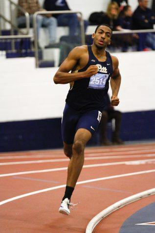 Desmond Palmer sets school record in 600m at Nittany Lion Challenge