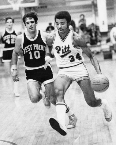 Billy Knight averaged 22.2 points for his career and led the Panthers to one of three Elite Eight trips in program history. Courtesy of Pitt Athletics