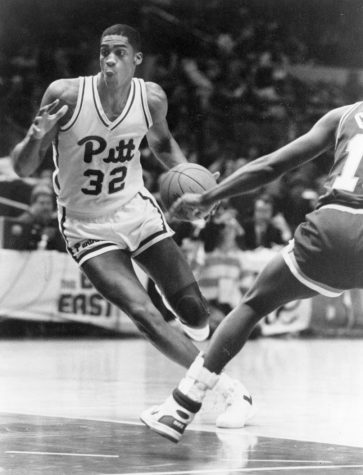 Charles Smith is the leading scorer in Panthers history, finishing his career with 2,045 career points. Courtesy of Pitt Athletics