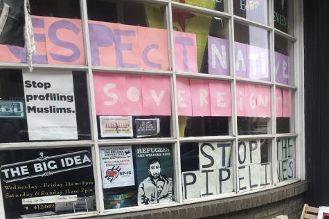 Brunch and big ideas: Bookstore raises funds for arrested protesters