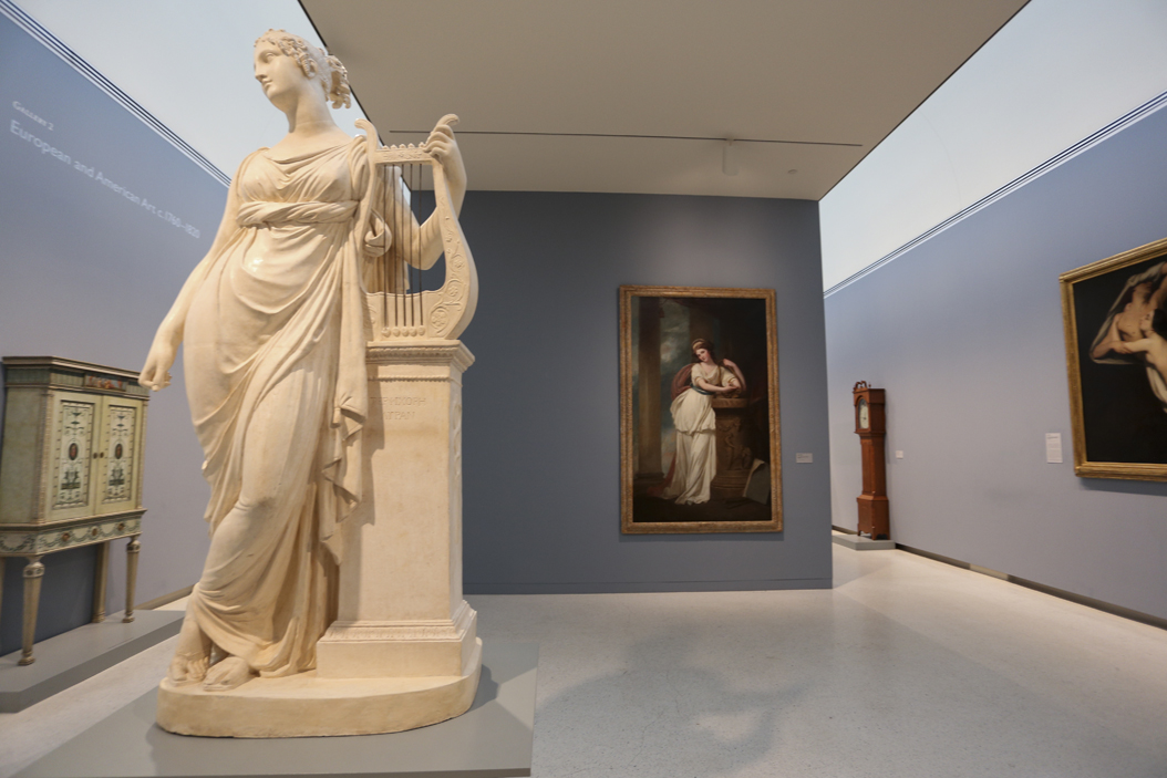 Gallery 2 at the CMOA: European and American Art c. 1760-1820