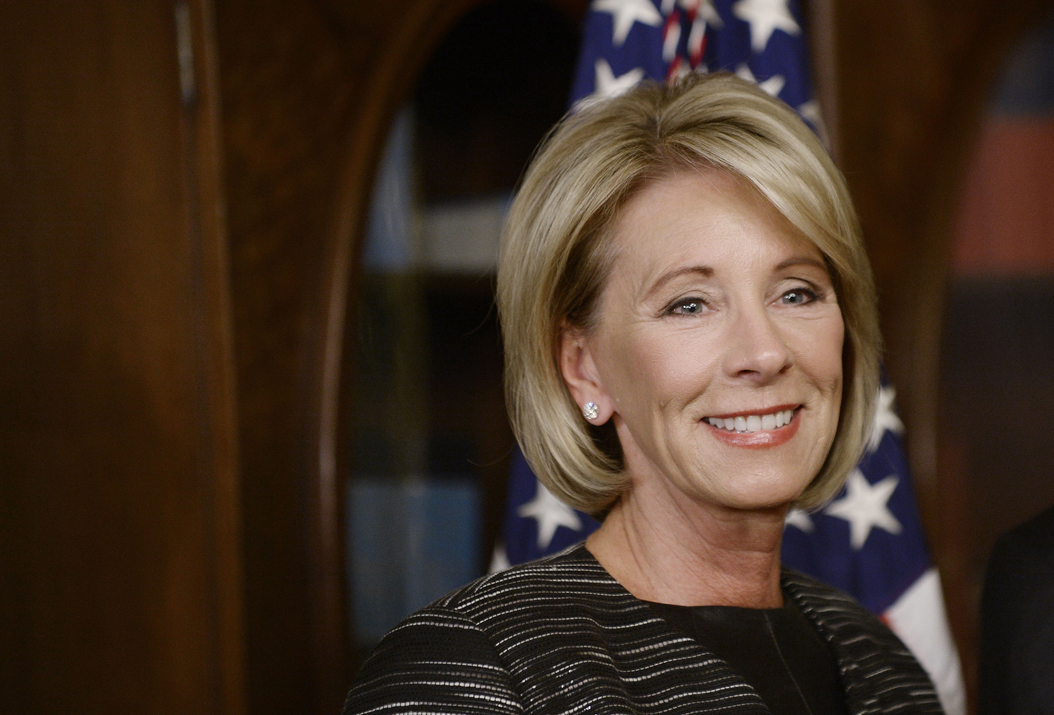 Education Secretary Betsy DeVos. (Olivier Douliery/Abaca Press/TNS)