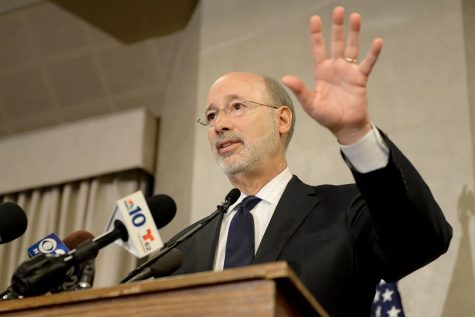 Gov. Tom Wolf proposes flat funds for Pitt