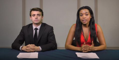 Zach Williams and Jade Nash host UPTV News on Jan. 30. Courtesy of UPTV