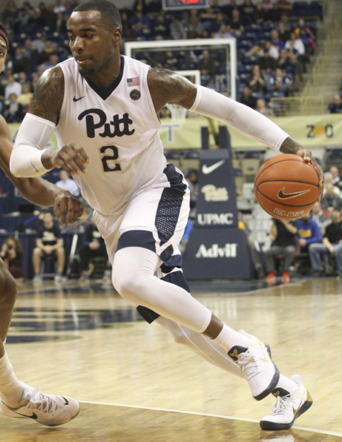 Pitt+senior+forward+Michael+Young+scored+16+points+and+pulled+down+four+rebounds+against+Georgia+Tech%2C+but+his+efforts+were+not+enough+to+lead+his+team+past+the+Yellow+Jackets.+TPN+File+Photo