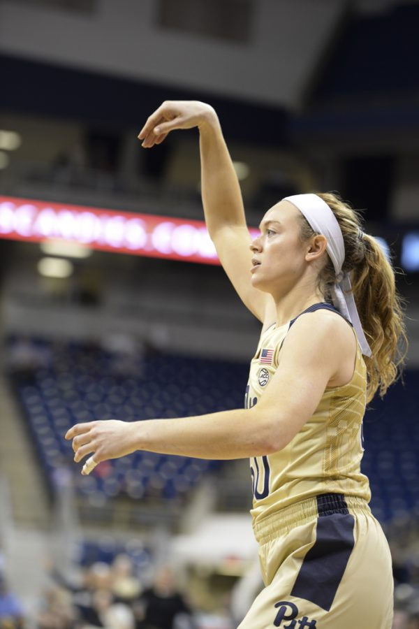 Sophomore forward Brenna Wise is transferring from the Pitt women's basketball team for next season. Anna Bongardino | Staff Photographer