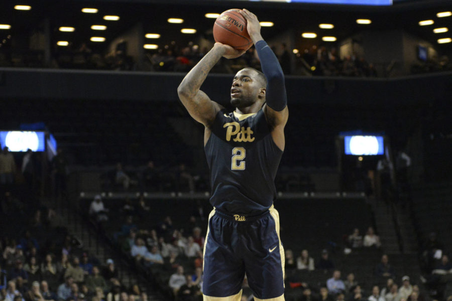 Pitt+senior+forward+Michael+Young+led+the+Panthers+with+17+points+in+a+61-59+win+over+Georgia+Tech+in+the+first+round+of+the+ACC+Tournament.+John+Hamilton+%7C+Visual+Editor