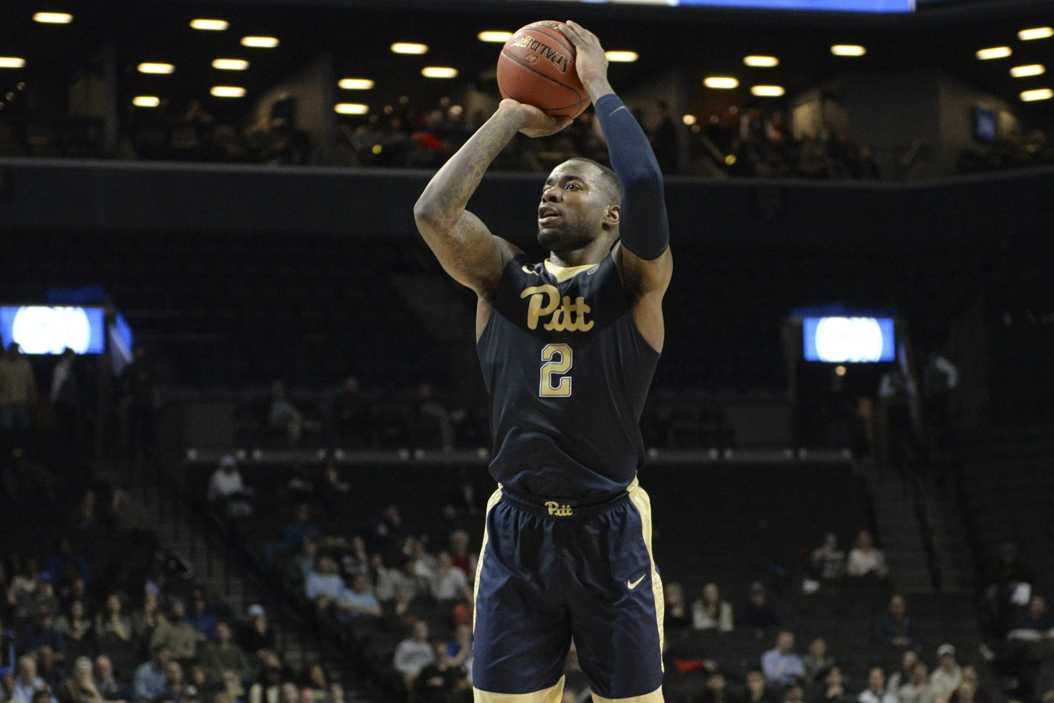 Pitt senior forward Michael Young led the Panthers with 17 points in a 61-59 win over Georgia Tech in the first round of the ACC Tournament. John Hamilton | Visual Editor