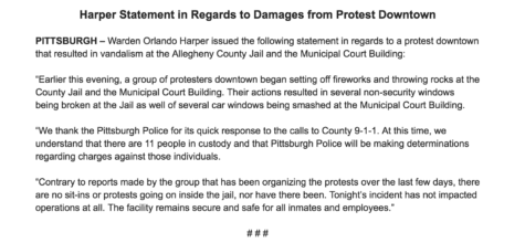 Harper Statement