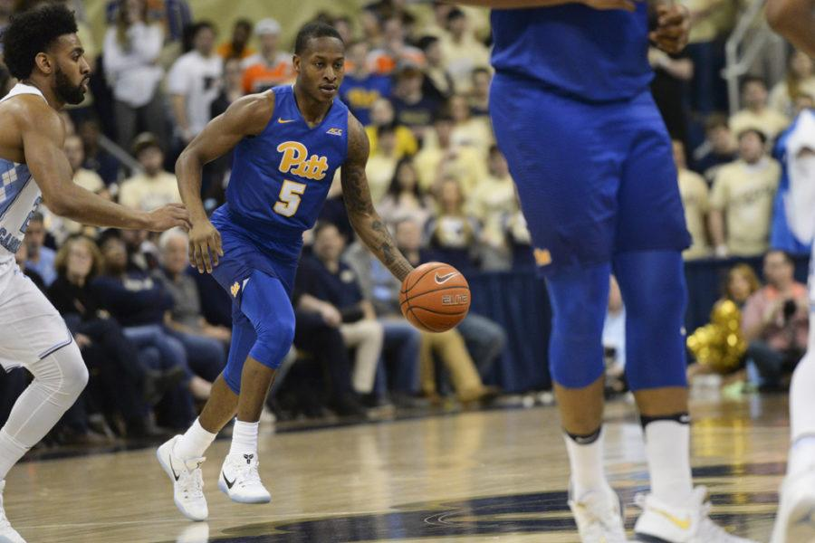 Pitt head coach Kevin Stallings dismissed first-year point guard Justice Kithcart from the team Friday morning. Anna Bongardino | Staff Photographer