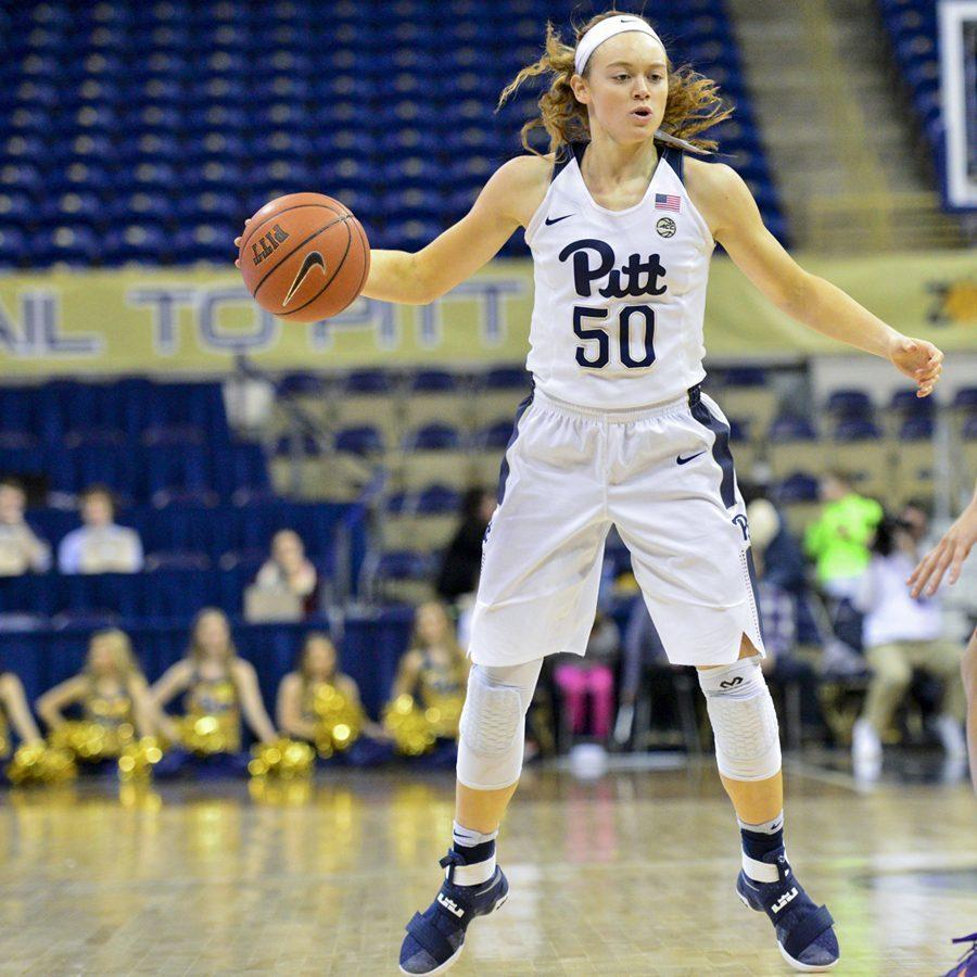 Pitt sophomore forward Brenna Wise earned her second-straight All-ACC Academic Team selection on Friday. Anna Bongardino | Staff Photographer
