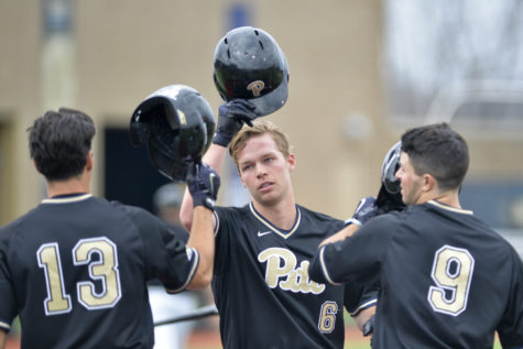 Pitt baseball gets to .500 with sweep of Maryland Eastern Shore