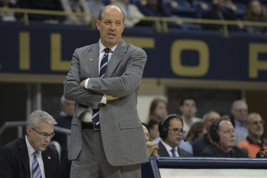 Pitt+head+coach+Kevin+Stallings+has+several+roster+spots+to+fill+before+the+signing+period+ends+on+May+17.+Meghan+Sunners+%7C+Assistant+Visual+Editor