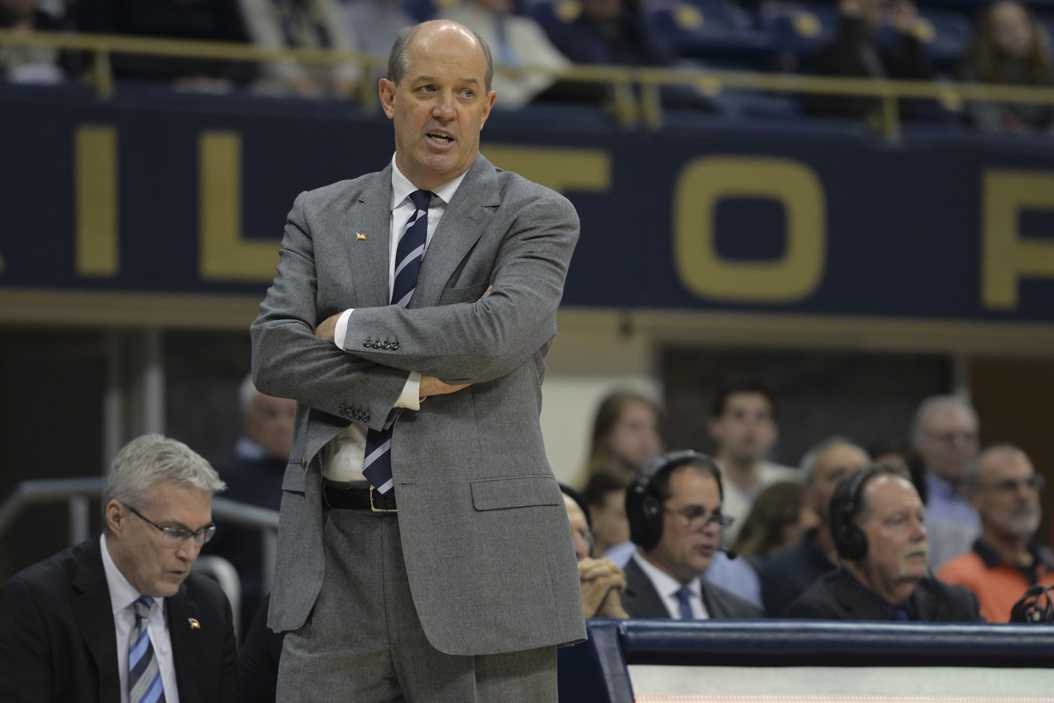 Pitt head coach Kevin Stallings has several roster spots to fill before the signing period ends on May 17. Meghan Sunners | Assistant Visual Editor