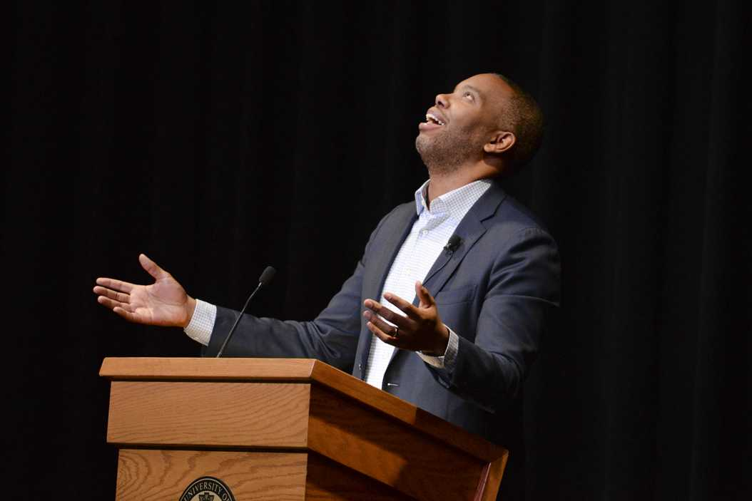 Ta-Nehisi Coates spoke to a packed crowd Monday night. Stephen Caruso | Online Visual Editor
