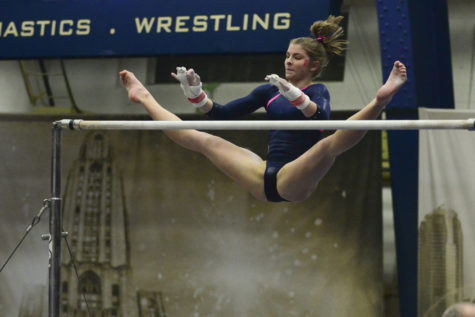 Pitt gymnasts named to All-EAGL, All-Academic teams