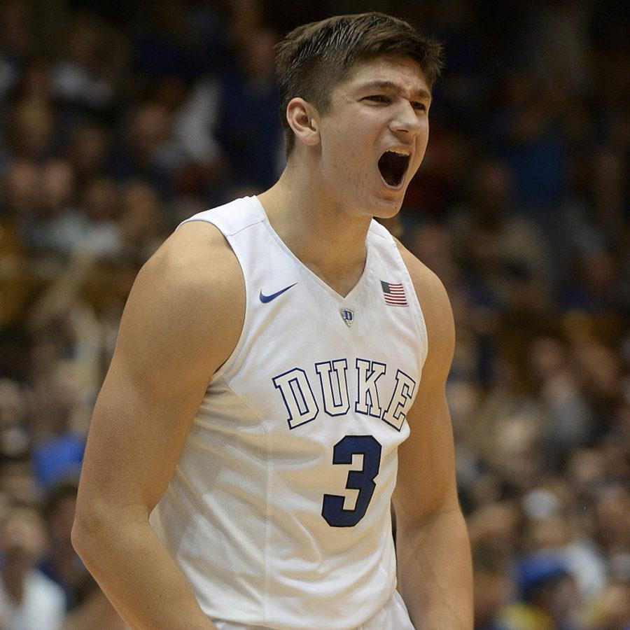 Duke+junior+guard+Grayson+Allen+will+play+a+key+role+in+deciding+how+far+the+Blue+Devils+go+in+the+NCAA+Tournament.+%28Chuck+Liddy%2FRaleigh+News+%26amp%3B+Observer%2FTNS%29