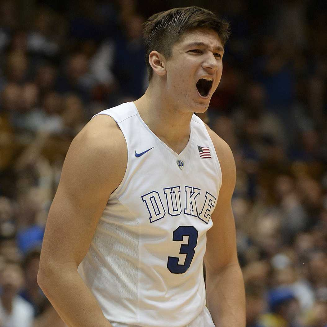 Duke junior guard Grayson Allen will play a key role in deciding how far the Blue Devils go in the NCAA Tournament. (Chuck Liddy/Raleigh News & Observer/TNS)