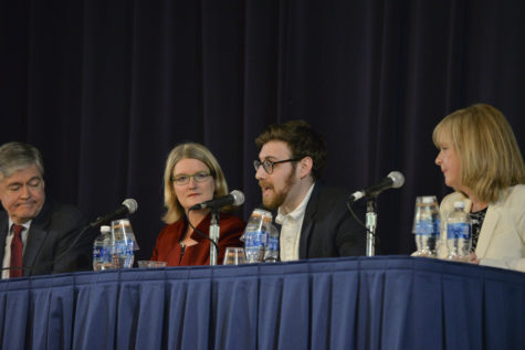 Panel discusses journalism in the Trump Era