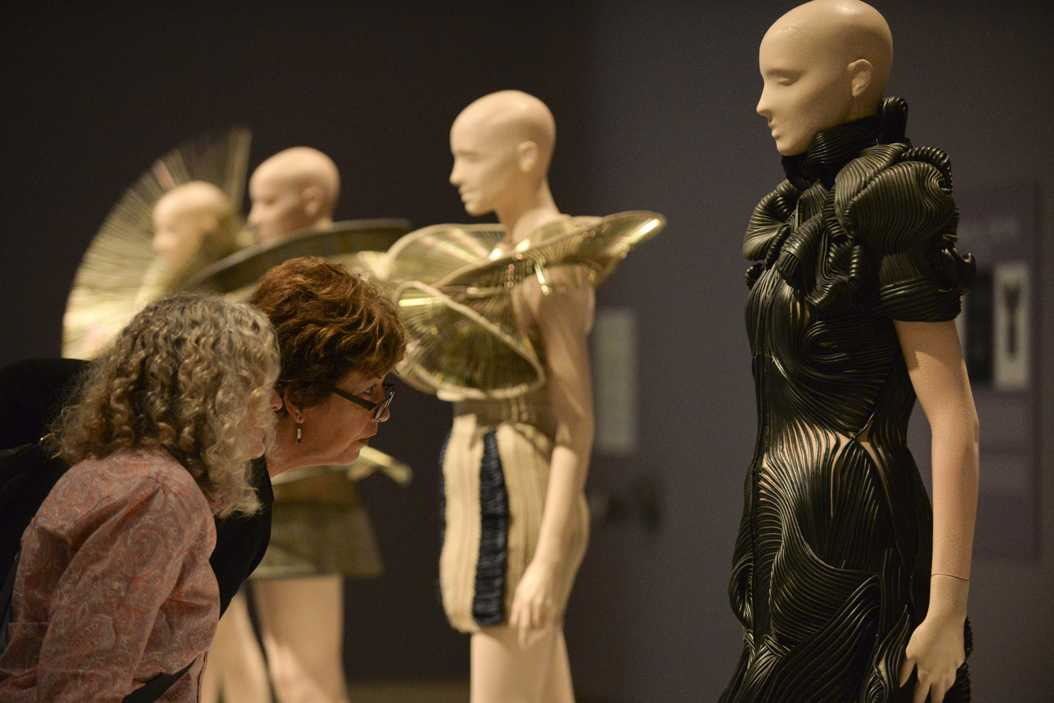 Iris van Herpen, a Dutch designer, created an exhibit showing at the Carnegie Museum of Art until May 1. Kyleen Considine | Staff Photographer