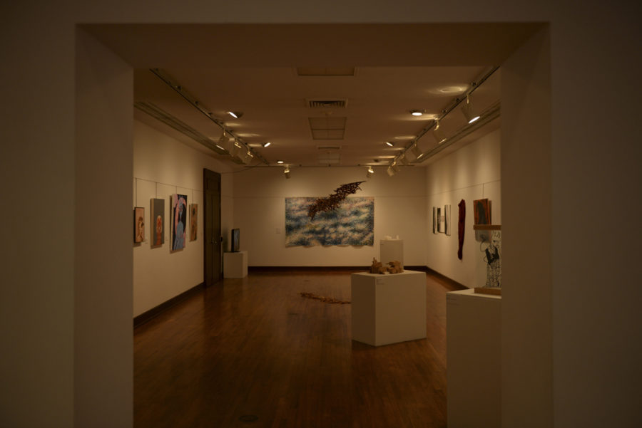 Students+display+artwork+from+study+arts+classes+at+Frick+until+April+29.+Paul+Novelli+%7C+For+The+Pitt+News