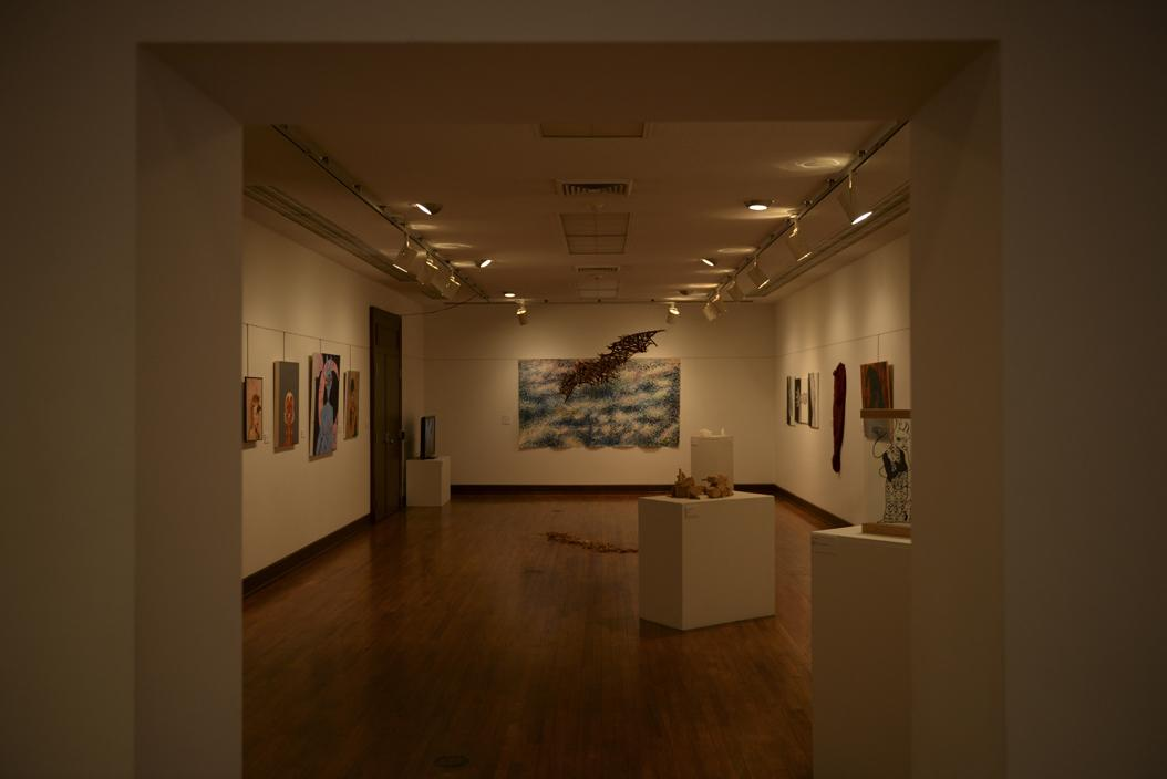 Students display artwork from study arts classes at Frick until April 29. Paul Novelli | For The Pitt News
