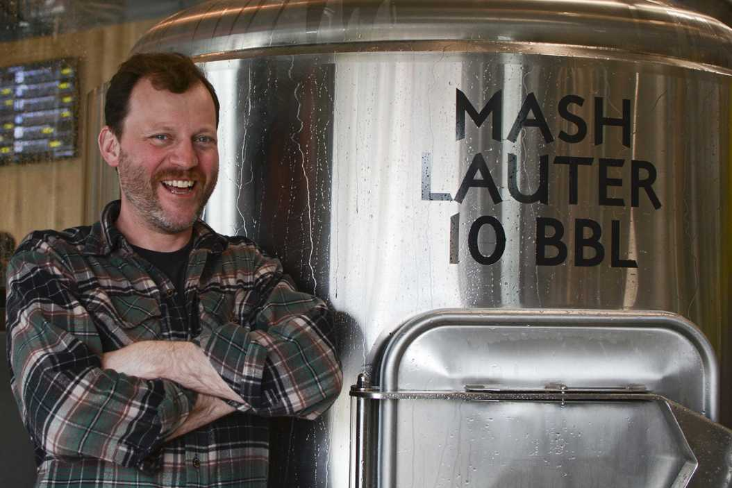 Marcus Cox, husband to Pitt economics professor Andrea La Nauze, brews his own beer. Stephen Caruso | Assistant Visual Editor