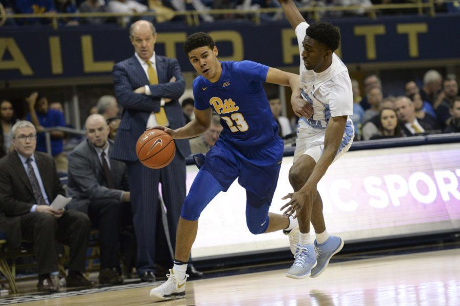 Redshirt sophomore guard Cameron Johnson is transferring from the Pitt men's basketball team. Anna Bongardino | Staff Photographer