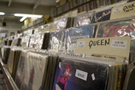 Records on the rise: vinyl making a comeback among Pitt students