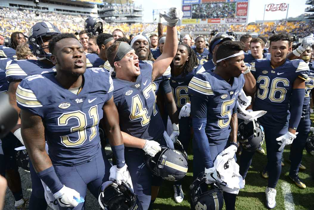 This past year, the Pitt football team collected two top-five wins in its second consecutive 8-5 season. TPN File Photo