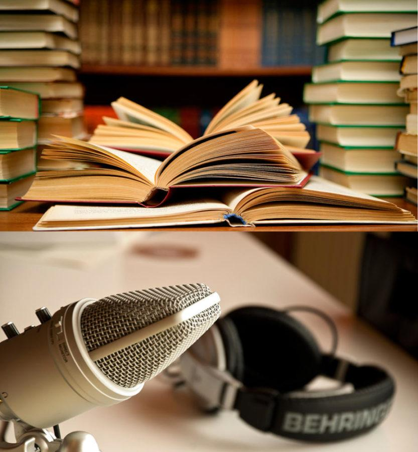Pitt News Staff chose their favorite books and podcasts. (Photos via Flickr)
