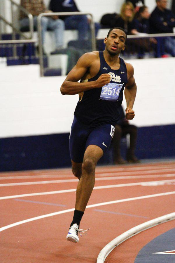 Pitt senior Desmond Palmer qualified for the NCAA Championships for the fourth time in his career last week at the NCAA East Preliminary Rounds in Lexington,  Kentucky. (Photo Courtesy of Pitt Athletics)