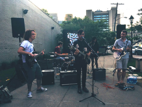 Digital Plaza hosts Pitt musicians