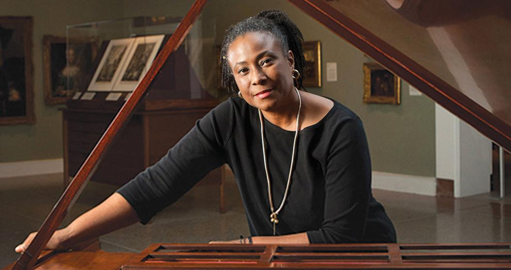Geri Allen, a renowned jazz musician and the Director of Jazz Studies at Pitt, passed away on June 27. (Photo via PittWire)