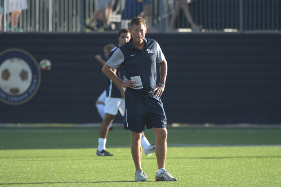 Men%27s+soccer+Coach+Jay+Vidovich+is+looking+to+replicate+the+success+he+had+at+Wake+Forest%2C+where+he+was+a+two-time+NSCAA+national+coach+of+the+year.+Photo+courtesy+of+Pitt+Athletics