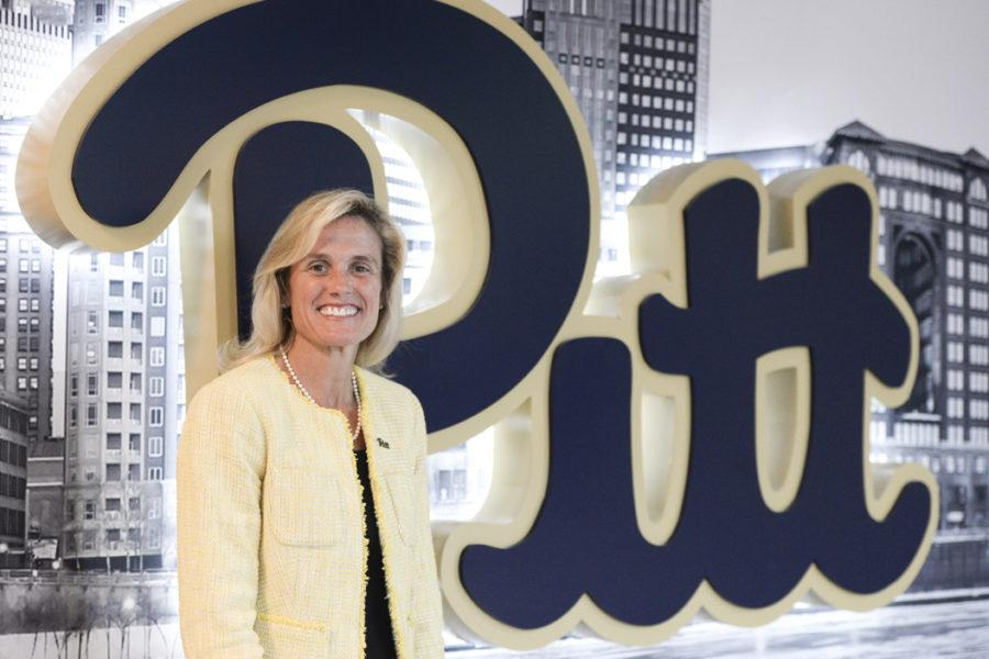 Pitt Athletic Director Heather Lyke hired two coaches this week, filling vacancies in diving and gymnastics. (Photo by Jordan Mondell | Contributing Editor)