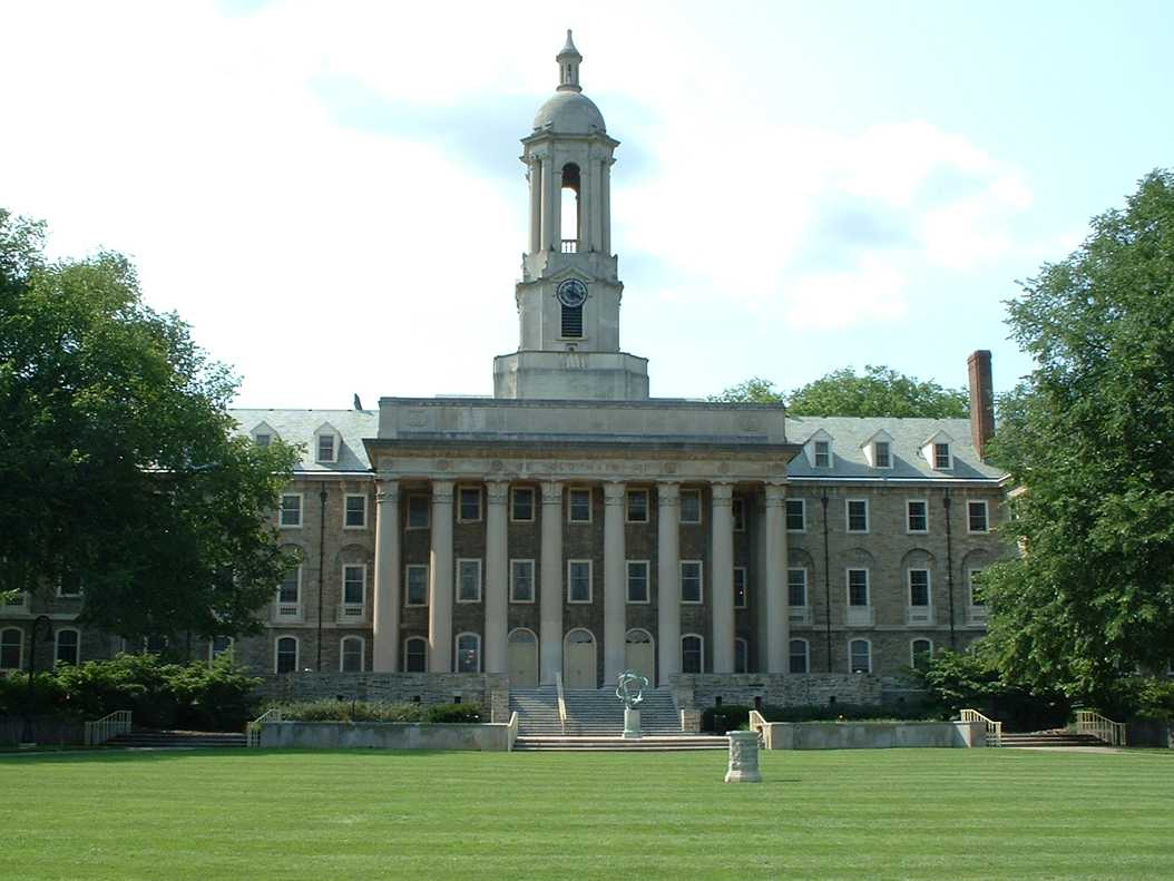 Penn State's Old Main (Photo via Wikipedia Commons)