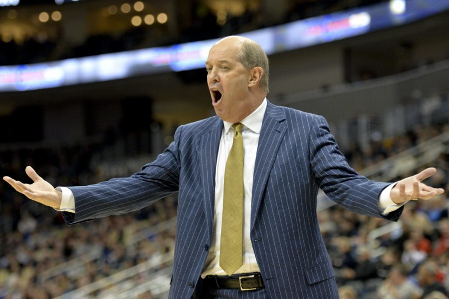 Pitt Head Coach Kevin Stallings is close to finalizing next year's team, which will be made up almost entirely of new players. John Hamilton | Editor-in-Chief