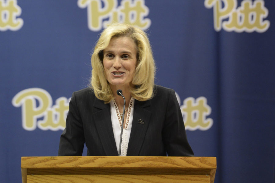 Pitt Athletic Director Heather Lyke. (TPN File photo)