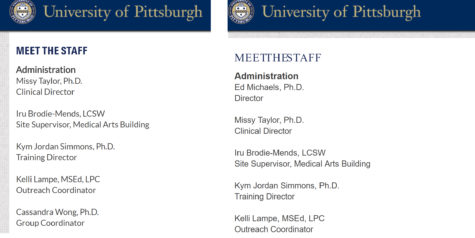 Pitt counseling center director charged with possessing child pornography