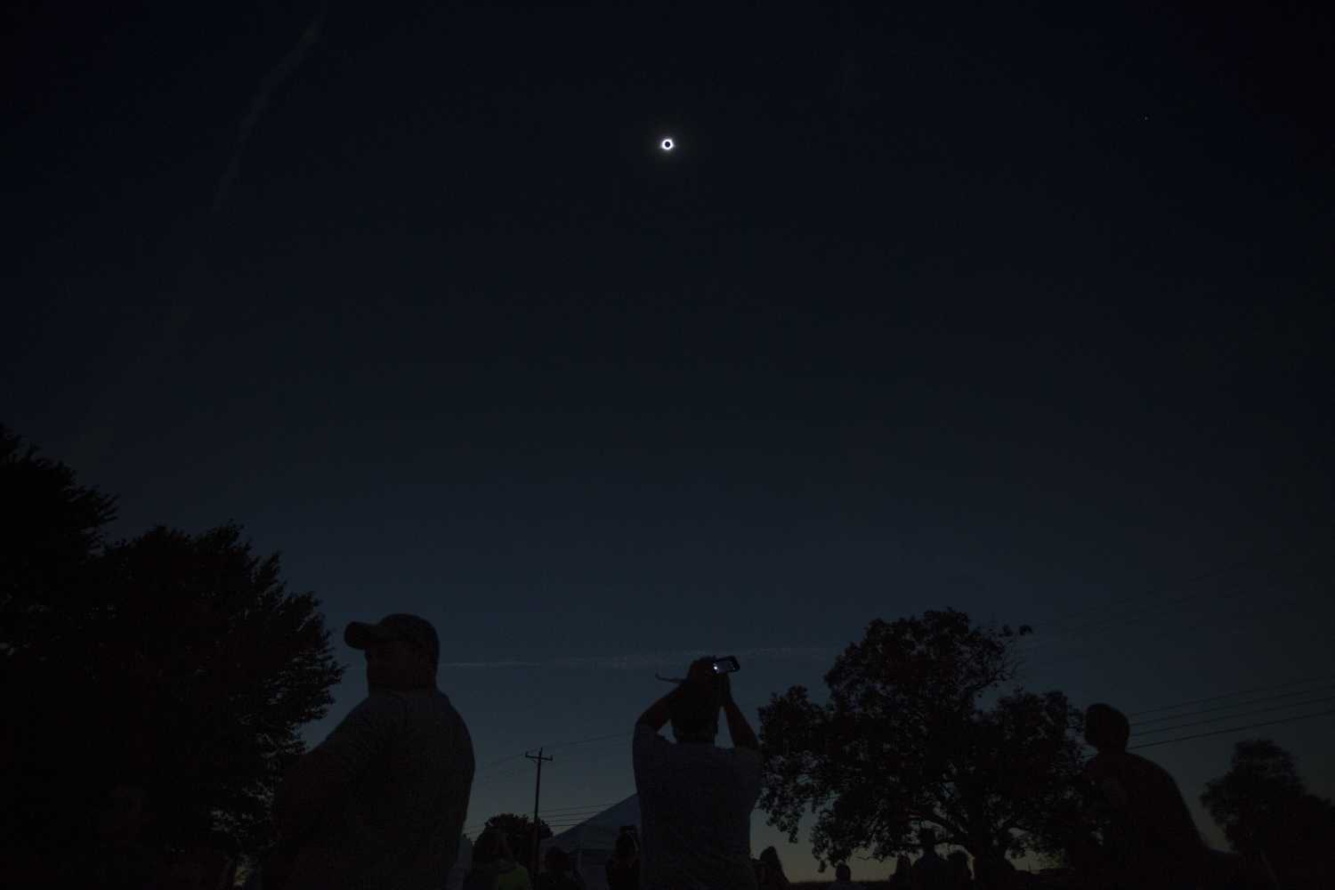 The Pitt Shadow Bandits, a team of Pitt students, faculty and staff, traveled to Tennessee to watch the total solar eclipse and test a theory about shadow bands.