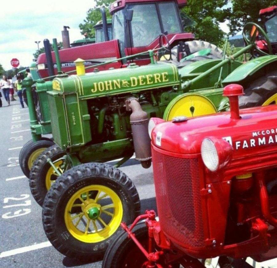 Tractor Day is an annual event for high schoolers in Bernsville, Pennsylvania. (Photo courtesy of Audrey Jonas)