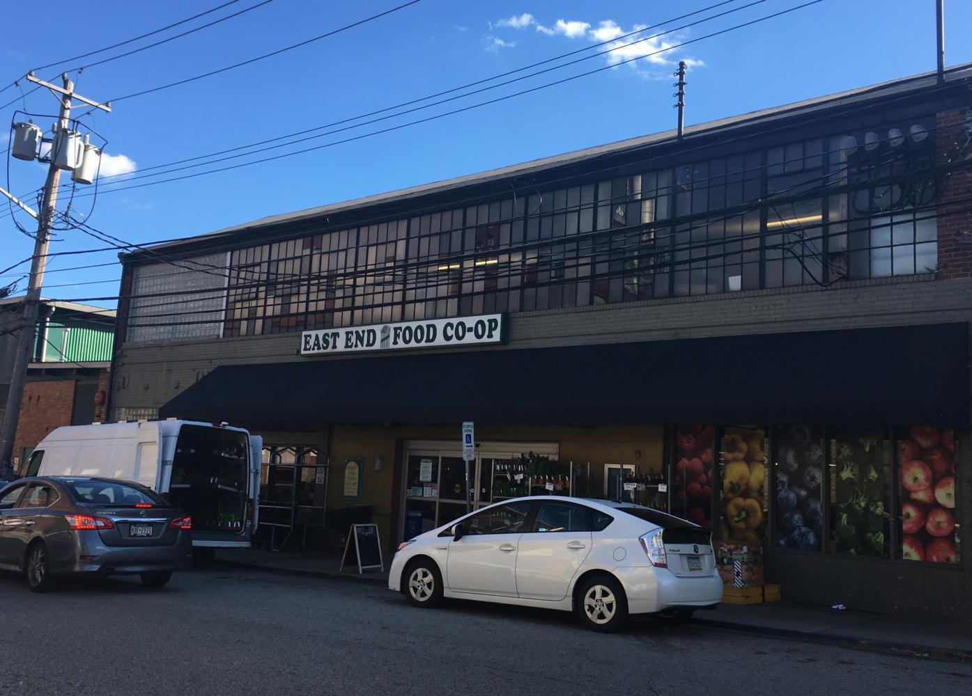 East End Food Co-op is located on Meade St. and has more than 10,000 members who all own a share of the company. (Photo courtesy of Marissa Perino)