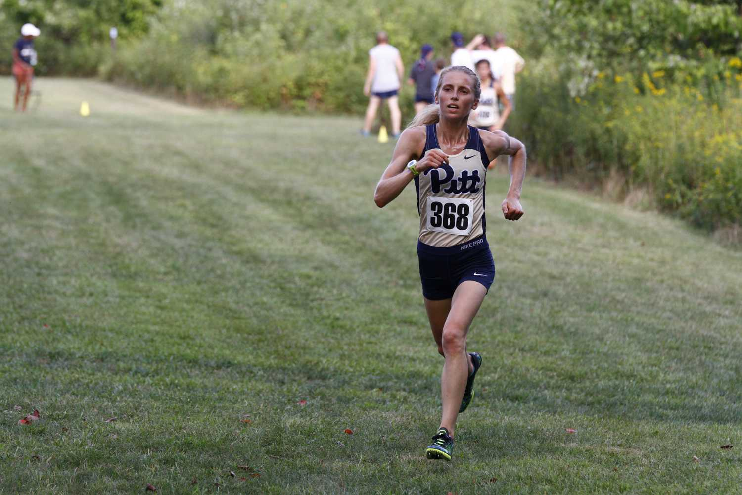 Junior Gillian Schriever didn't run this weekend but is expected to lead the women's cross country team this fall. (Photo courtesy of Pitt Athletics)