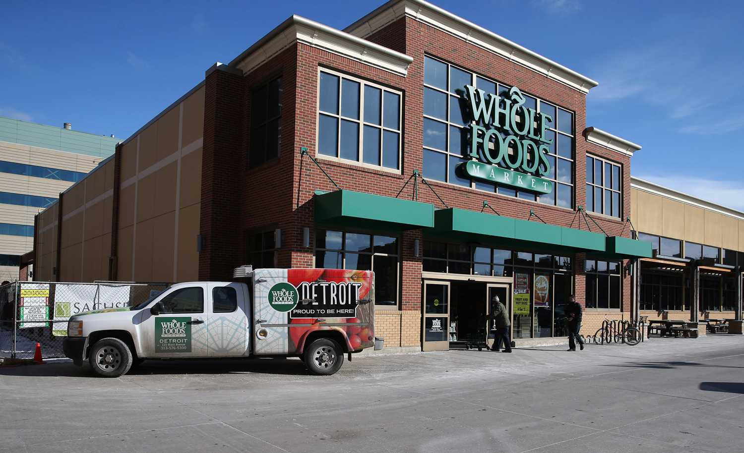 Whole Food's partnership with Amazon could be a positive, if the food retailers' values win out. (Terrence Antonio James/Chicago Tribune/TNS)
