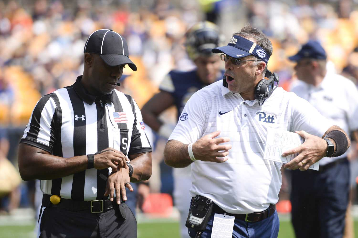 If Pitt wants success this season, Narduzzi will need to rethink his defensive strategies. (Photo by Kyleen Considine | Visual Editor)