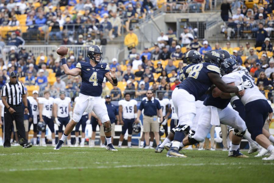 Pitt+Panthers+beat+Rice+Owls+at+Heinz+Field+Saturday+afternoon+with+a+final+score+of+42-10.+%28Photo+by+Thomas+Yang+%7C+Staff+Photographer%29