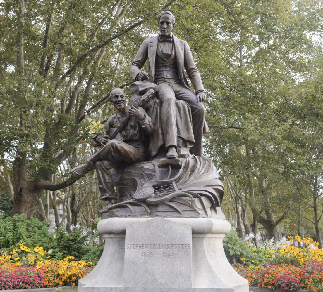The Pittsburgh Art Commission reached a unanimous decision Wednesday to recommend the removal of the Stephen Foster statue. (Kyleen Considine | Visual Editor)